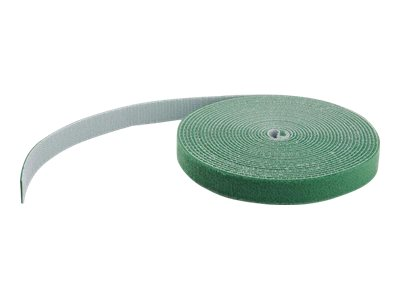 StarTech.com 50ft. Hook and Loop Roll - Green - Cable Management - Klettverschluss - 15.24 m - grün