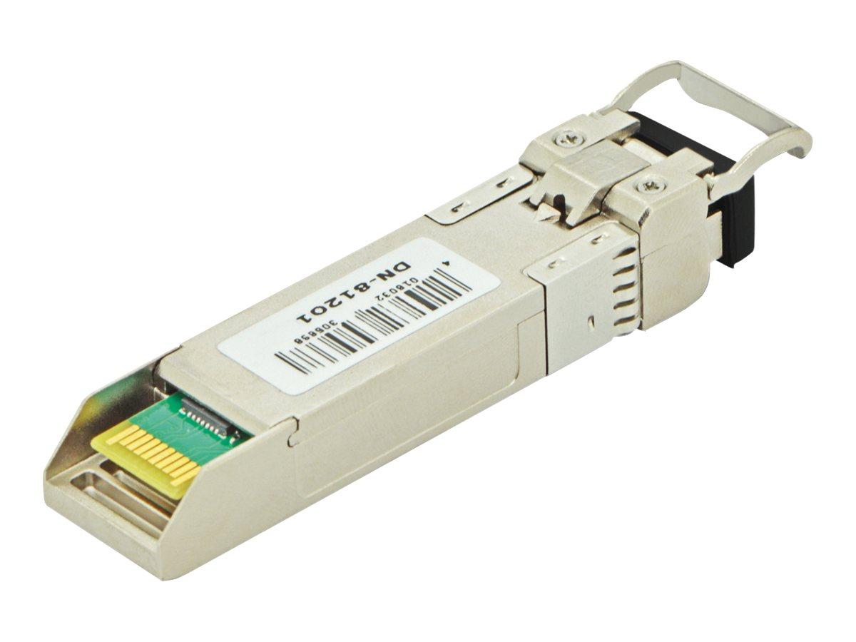 DIGITUS DN-81201 - SFP (Mini-GBIC)-Transceiver-Modul - 10 GigE - LC - bis zu 10 km - 1310 nm
