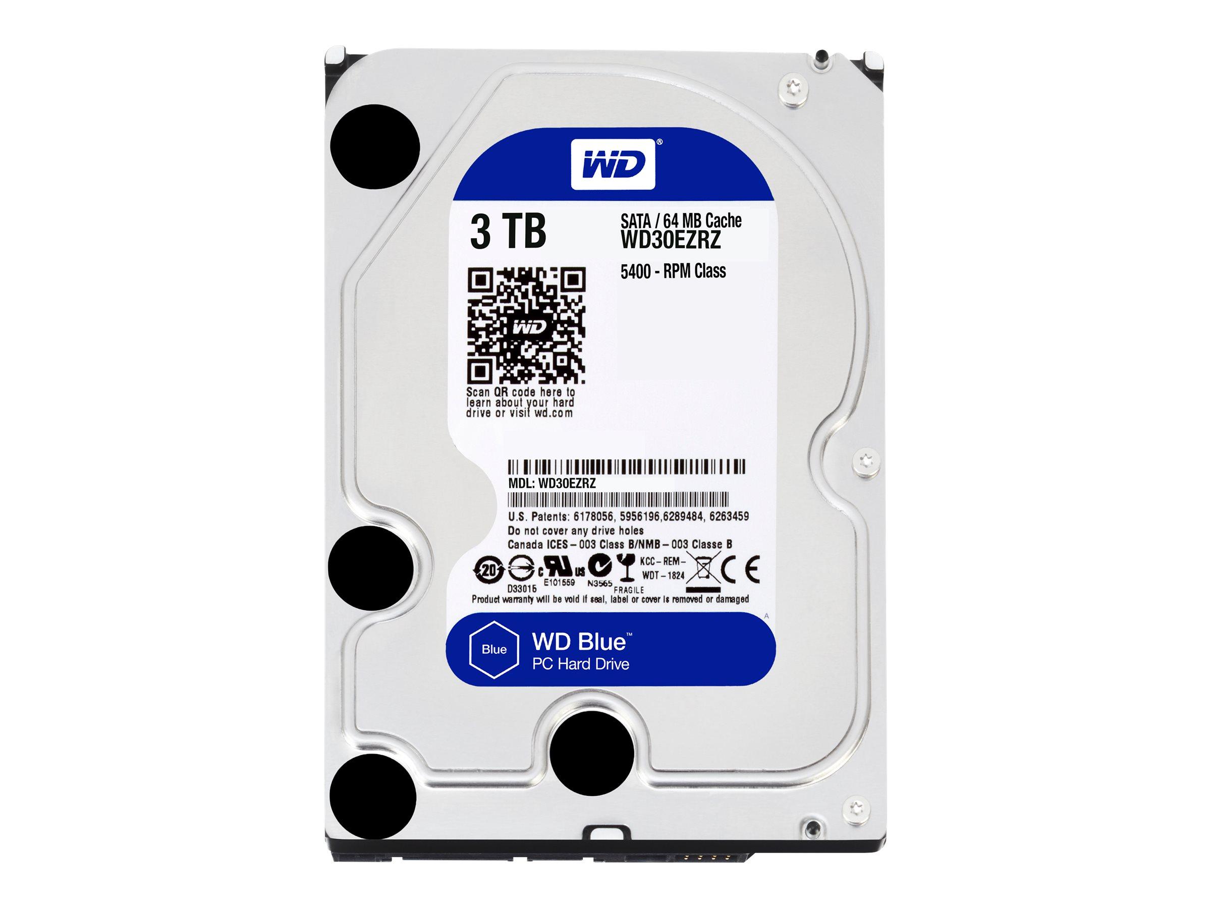 WD Blue WD30EZRZ - Festplatte - 3 TB - intern - 3.5