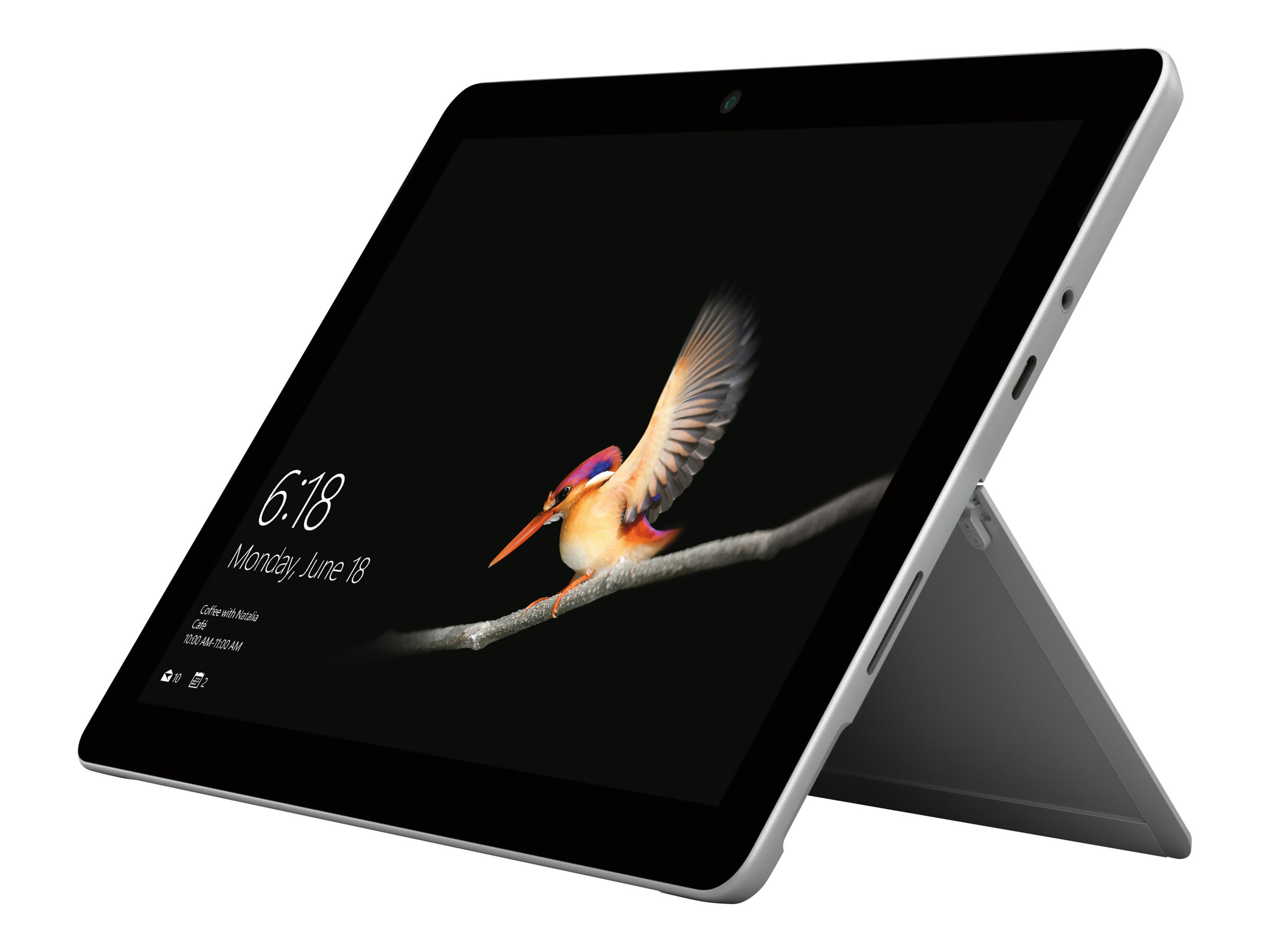 Microsoft Surface Go - Tablet - Pentium Gold 4415Y / 1.6 GHz - Win 10 Pro - 8 GB RAM - 128 GB SSD NVMe