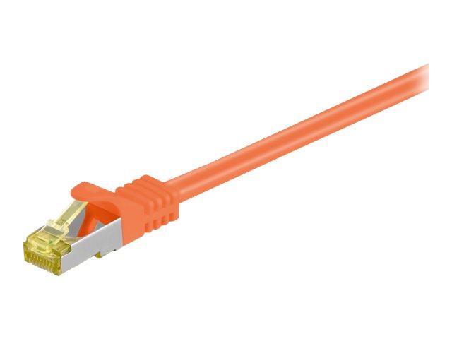 goobay - Patch-Kabel - RJ-45 (M) bis RJ-45 (M) - 10 m - SFTP, PiMF - CAT 7