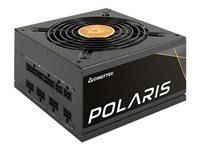 Chieftec Polaris Series 650W - Netzteil (intern) - ATX12V 2.4/ EPS12V - 80 PLUS Gold - Wechselstrom 100-240 V - 650 Watt
