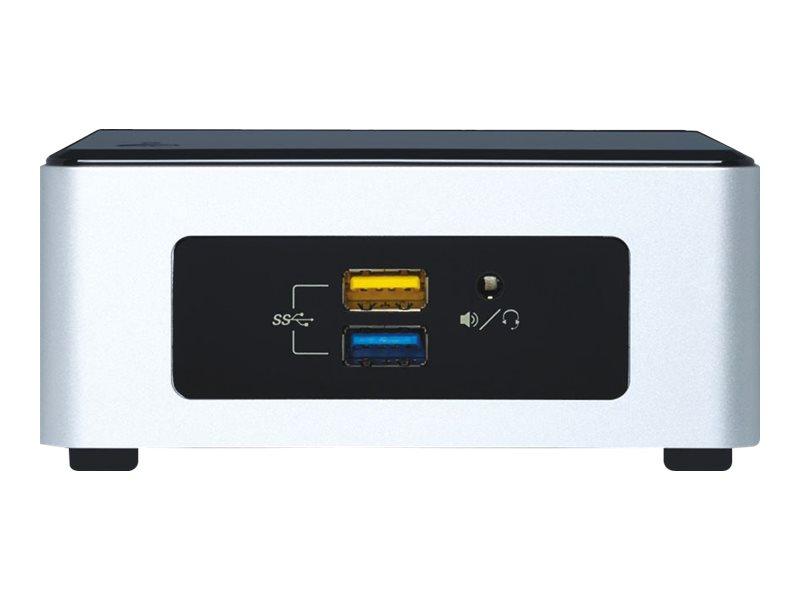 Intel Next Unit of Computing Kit NUC6i5SYH - Barebone - Mini-PC - 1 x Core i5 6260U / 1.8 GHz - Iris Graphics 540 - GigE