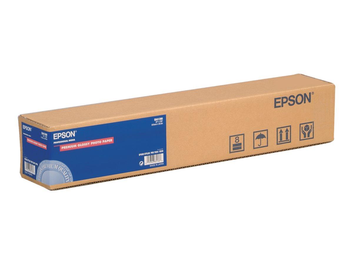 Epson Premium Semigloss Photo Paper - Halbglänzend - Rolle (40,6 cm x 30,5 m) - 251 g/m² - Fotopapier - für SureColor P5000, P80