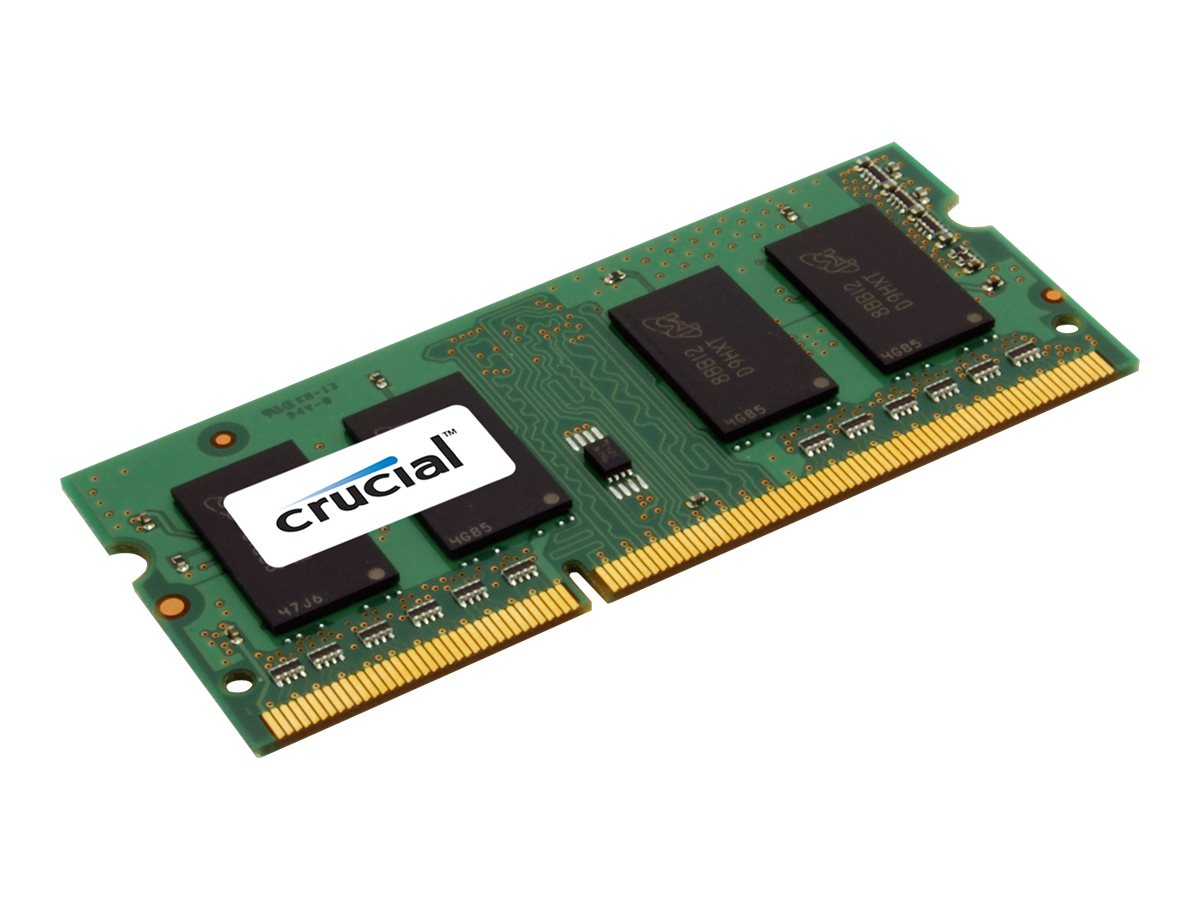 Crucial - DDR3L - 8 GB - SO DIMM 204-PIN - 1600 MHz / PC3-12800 - CL11