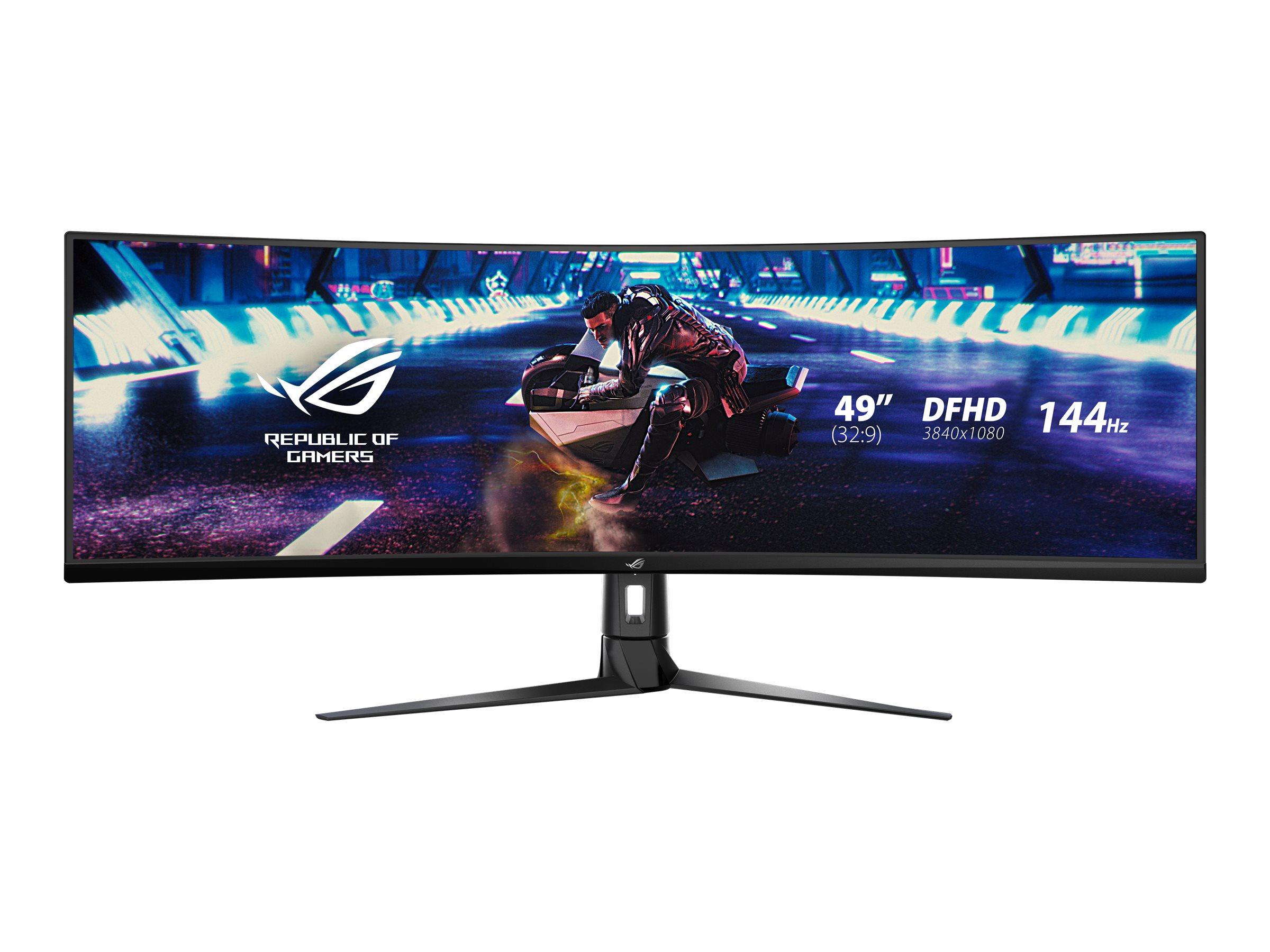 ASUS ROG Strix XG49VQ - LED-Monitor - gebogen - 124.46 cm (49