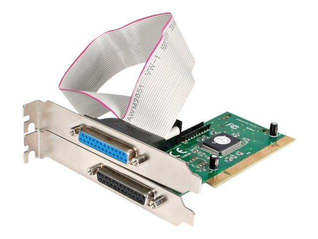 StarTech.com 2 Port Parallel DB-25 PCI Schnittstellenkarte - EPP/ECP - Parallel-Adapter - PCI - IEEE 1284 x 2