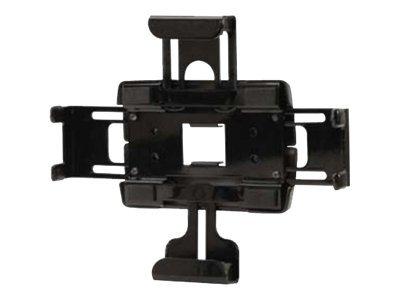 Peerless Universal Tablet Cradle PTM200 - Wandhalterung für Tablett - Schwarz - Montageschnittstelle: 75 x 75 mm - für 100 Serie