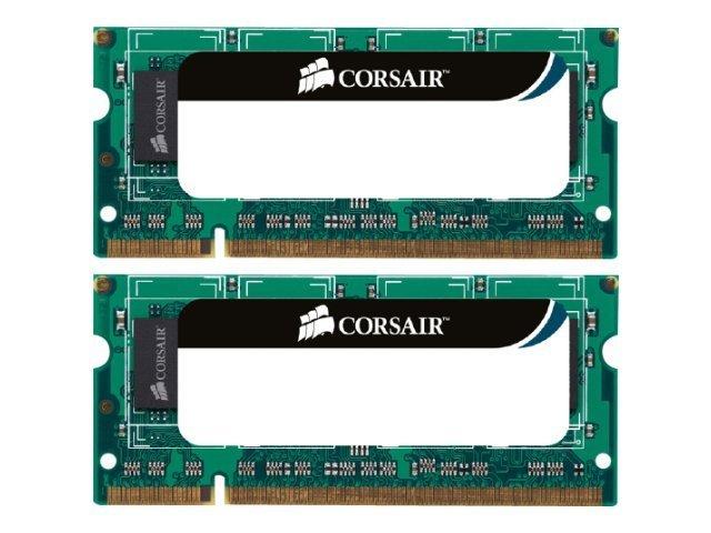 CORSAIR - DDR3 - 8 GB: 2 x 4 GB - SO DIMM 204-PIN - 1333 MHz / PC3-10600 - CL9