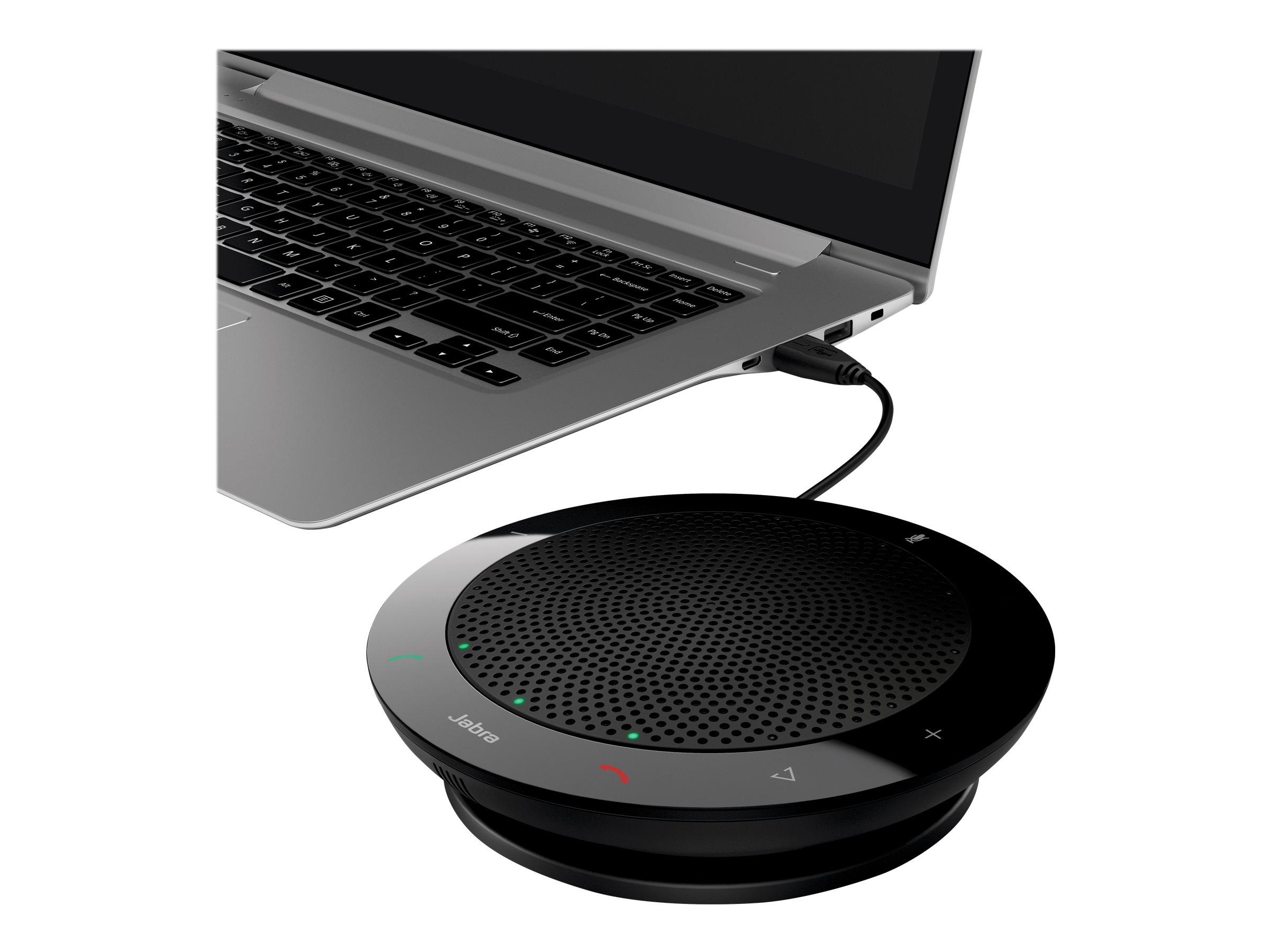 Jabra SPEAK 410 MS - VoIP-Freisprechtelefon für Tisch - kabelgebunden - USB - Zertifiziert für Skype für Unternehmen