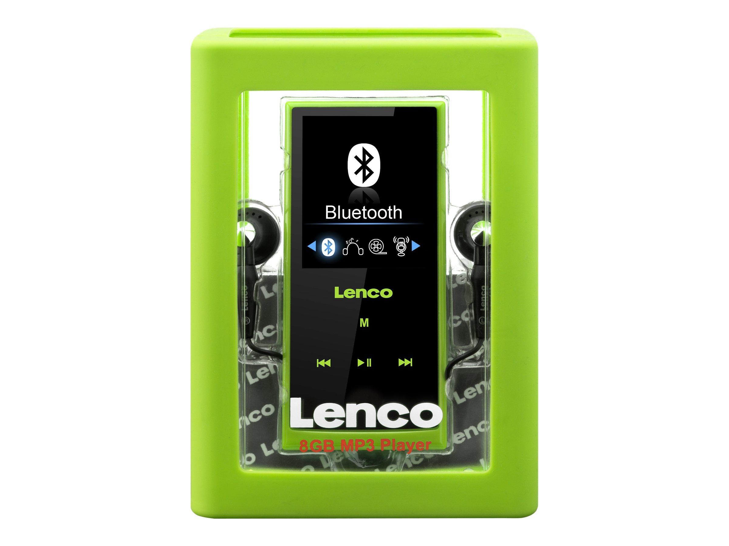 Lenco XEMIO-760 BT - Digital Player - 8 GB - grün