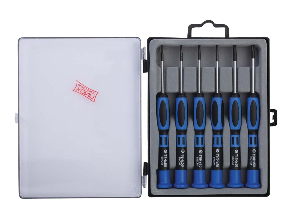 LINDY Professional Torx Set - Schraubendreher-Kit