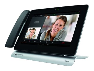 elmeg IP680 - IP-Videotelefon - Digitalkamera, Bluetooth-Schnittstelle - DECT / IEEE 802.11b/g/n (Wi-Fi) - SIP - 12 Leitungen