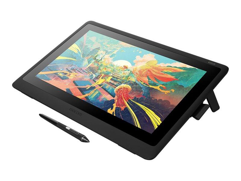 Wacom Cintiq 22 - Digitalisierer mit LCD Anzeige - rechts- und linkshändig - 47.6 x 26.8 cm - elektromagnetisch - kabelgebunden