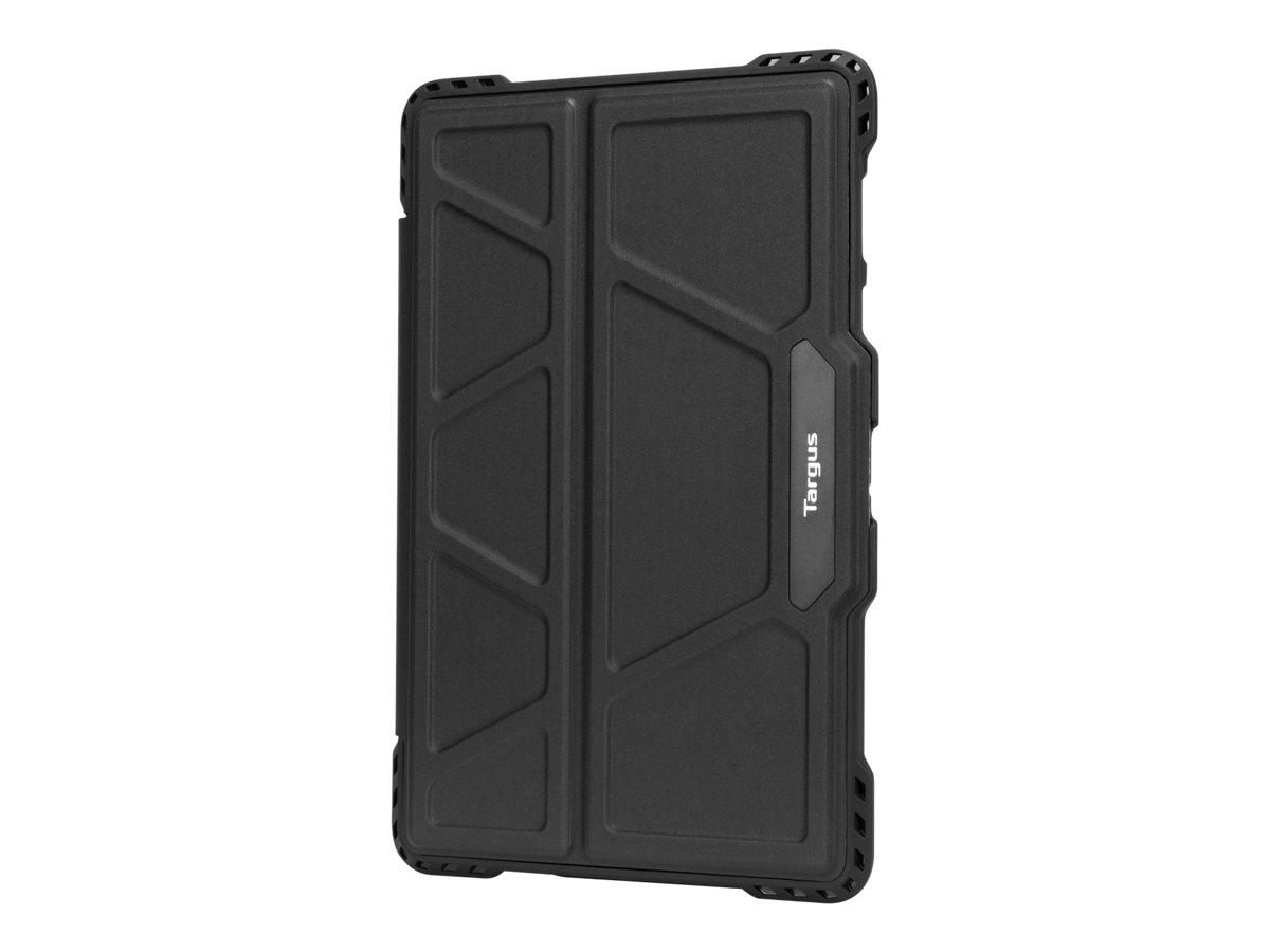 Targus Pro-Tek Rotating - Flip-Hülle für Tablet - widerstandsfähig - Polyurethan - Schwarz - für Samsung Galaxy Tab S5e