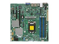 SUPERMICRO X11SSL-CF - Motherboard - micro ATX - LGA1151 Socket - C232 - USB 3.0