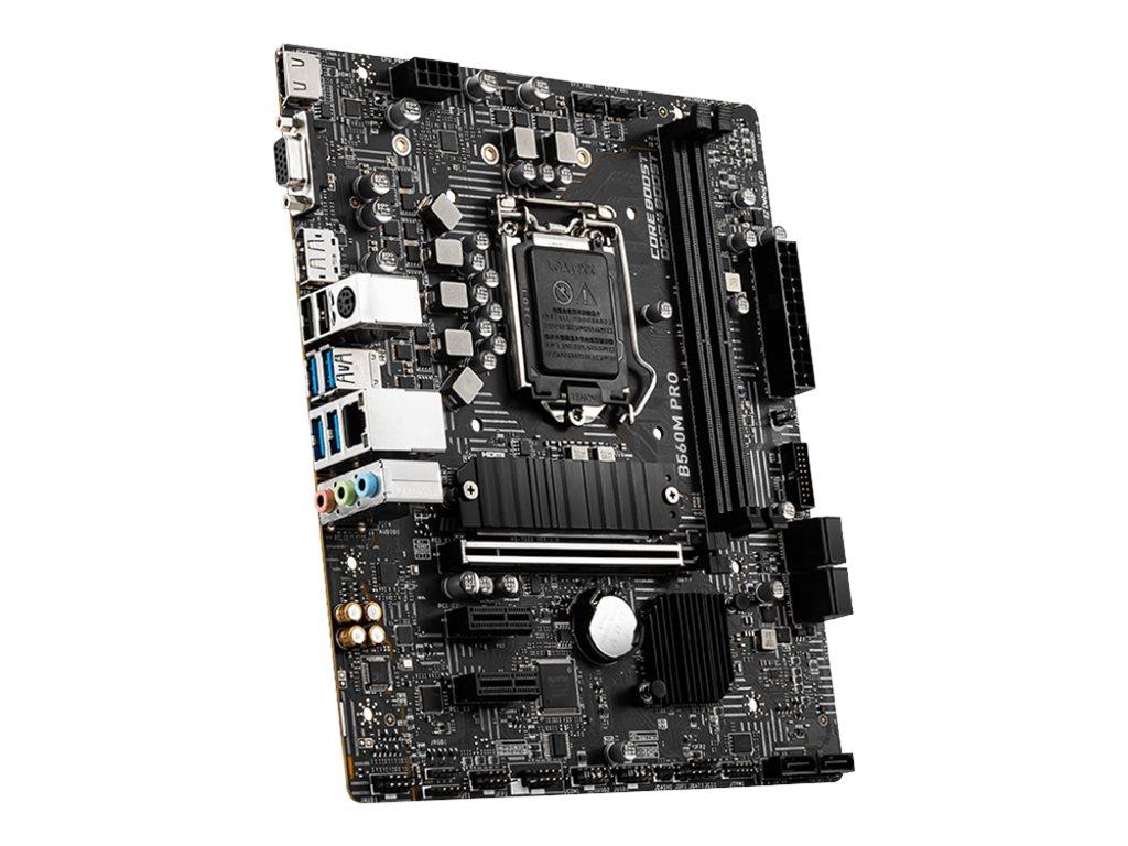 MSI B560M PRO - Motherboard - micro ATX - LGA1200-Sockel - B560 Chipsatz - USB 3.2 Gen 1