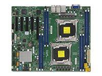 SUPERMICRO X10DRL-LN4 - Motherboard - ATX - LGA2011-v3-Sockel - 2 Unterstützte CPUs - C612