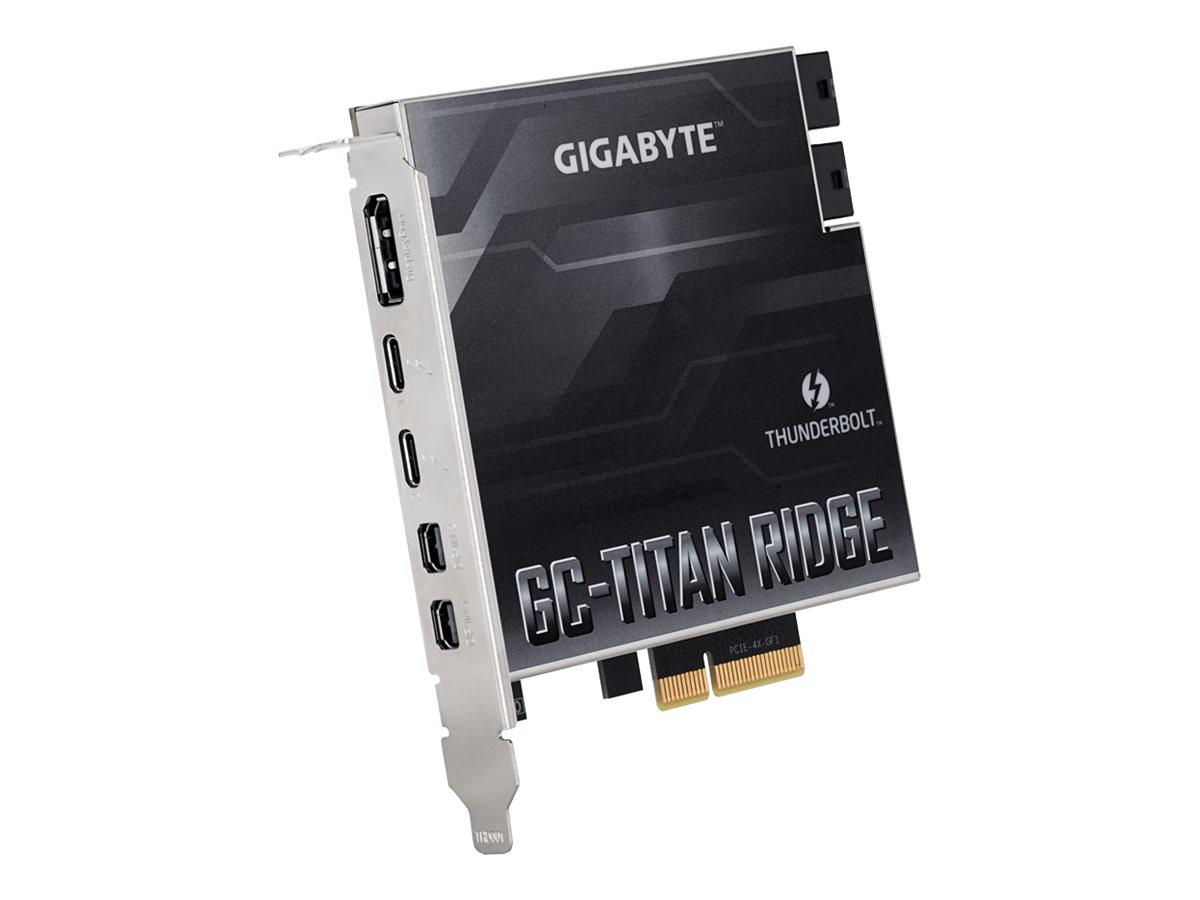Gigabyte GC-TITAN RIDGE (rev. 1.0) - Thunderbolt-Adapter - PCIe 3.0 x4 - Thunderbolt 3 / USB-C 3.1 x 2