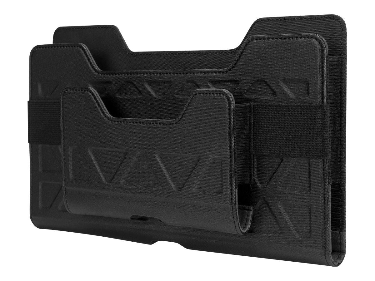 Targus Field-Ready Universal - Umhängetasche für Tablet - Polyurethan - Schwarz - 17.8 cm - 20.3 cm (7