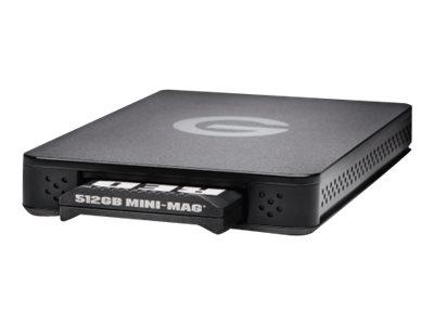G-Technology ev Series Reader - Red MINI-MAG Edition - Speichergehäuse - SATA, USB 3.0