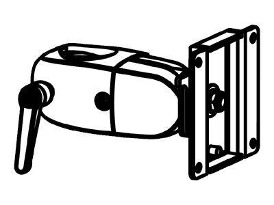 Ergotron DS 100 - Monitor-Klemmschwenkung
