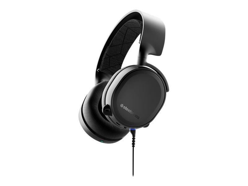 SteelSeries Arctis 3 Bluetooth - 2019 Edition - Headset - Full-Size - Bluetooth - kabellos, kabelgebunden