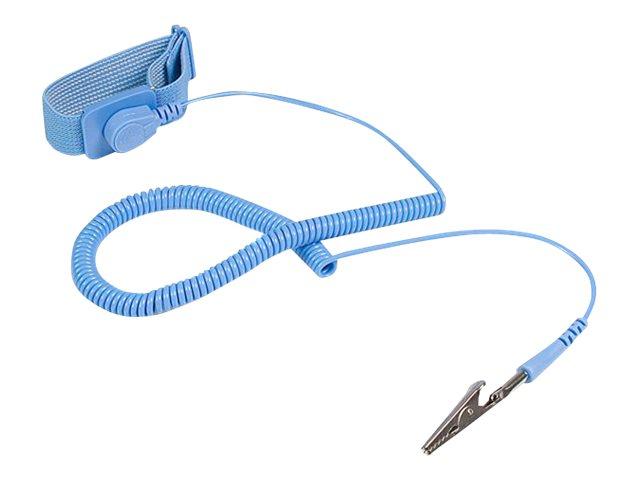 StarTech.com ESD Antistatikband mit Erdungskabel - Antistatik Erdungsarmband - Anti-Statik Armband - Antistatisches Armband