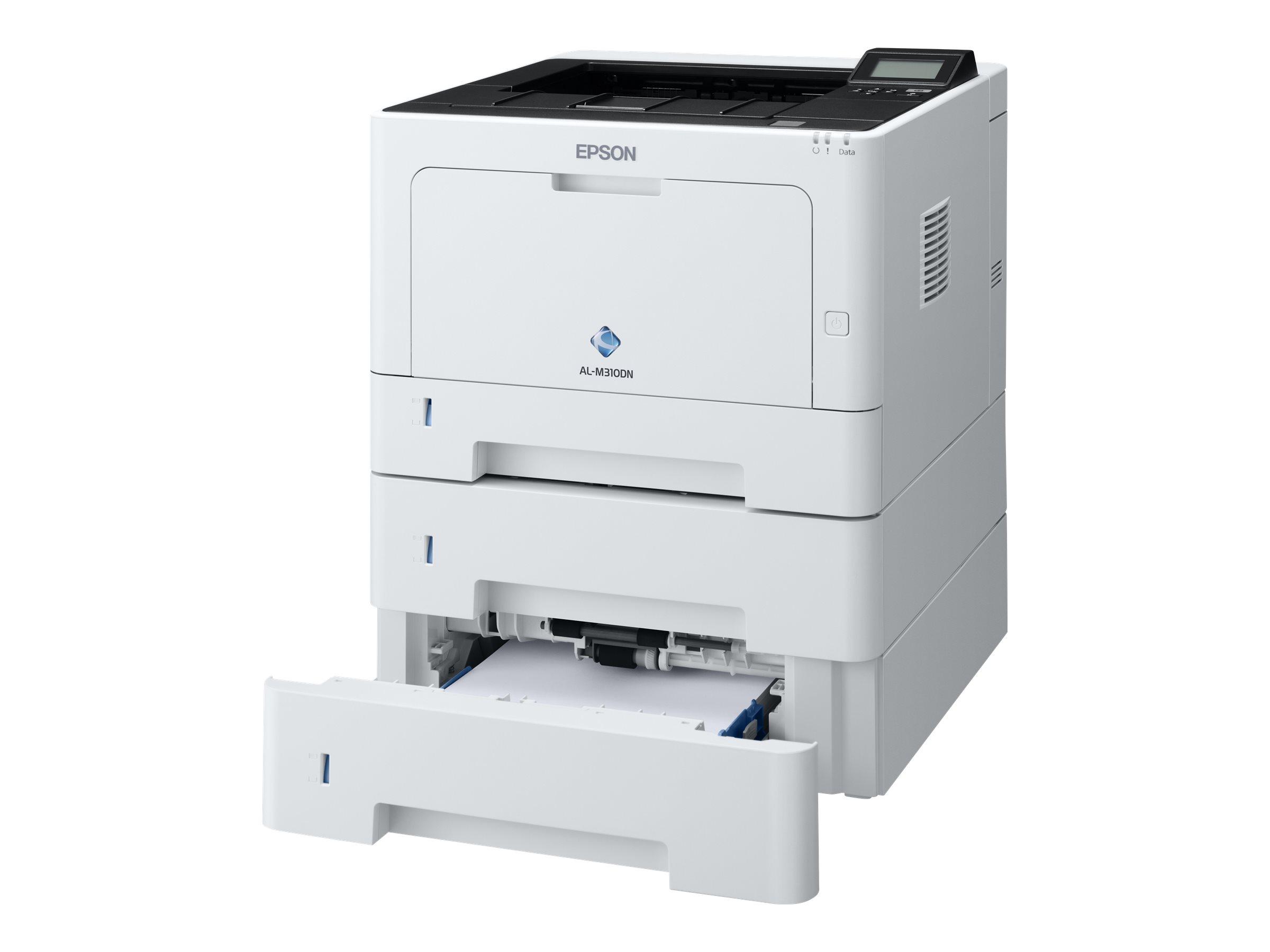 Epson WorkForce AL-M310DTN - Drucker - monochrom - Duplex - Laser - A4/Legal