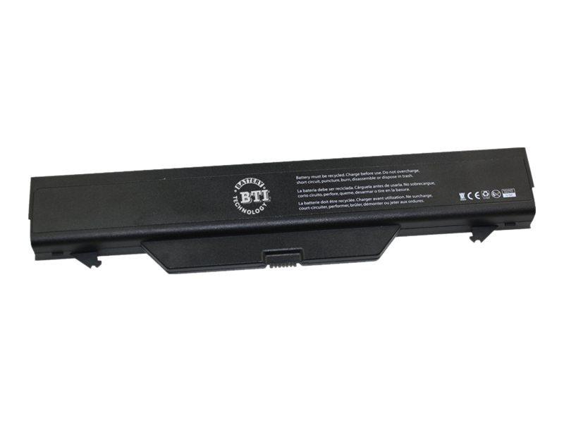BTI - Laptop-Batterie - 1 x Lithium-Ionen 6 Zellen 5200 mAh - für HP ProBook 4411s, 4510s, 4515s, 4710s