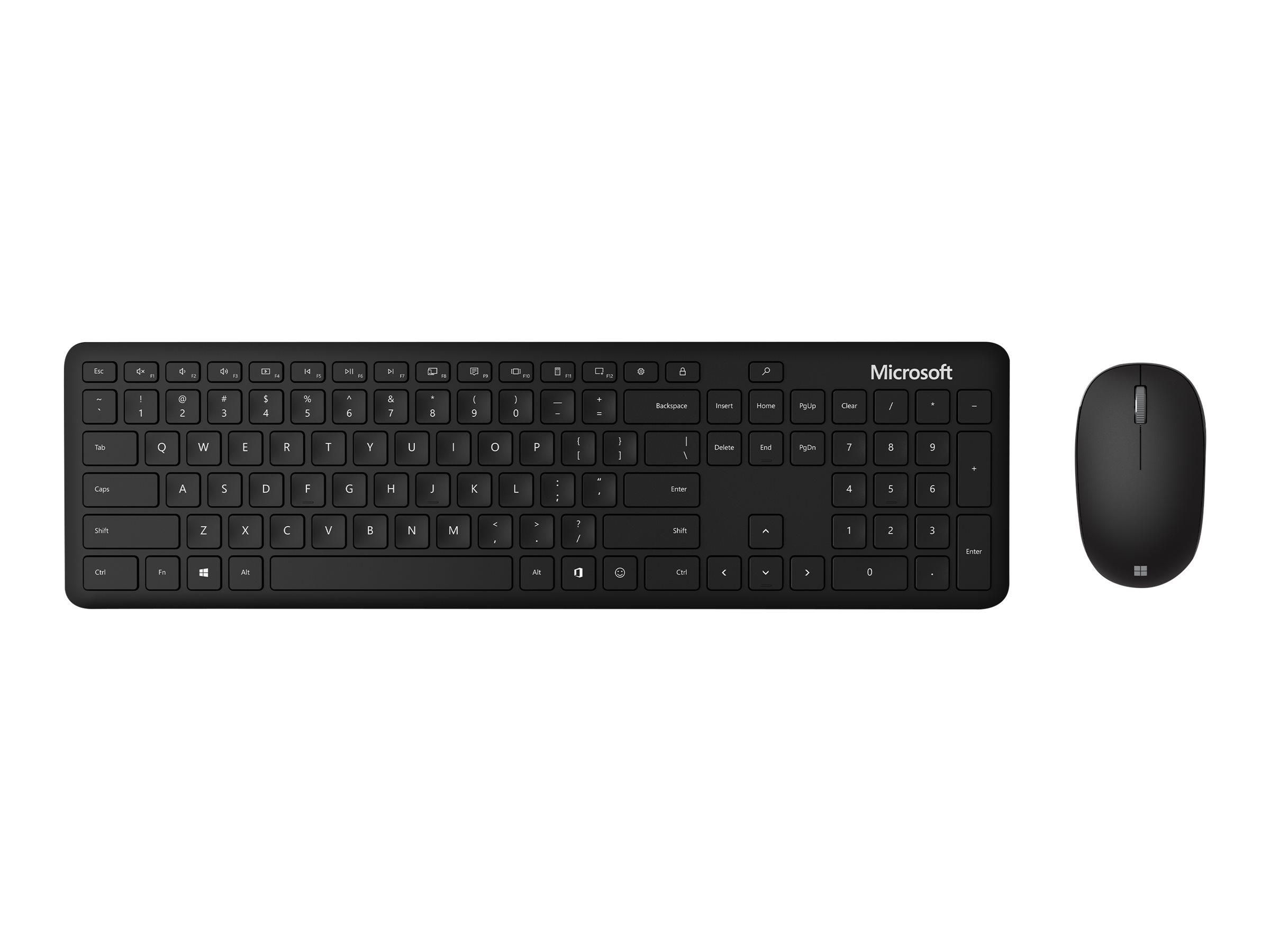 Microsoft Bluetooth Desktop - Für Unternehmen - Tastatur-und-Maus-Set - kabellos - Bluetooth 4.0 - Luxemburgisch