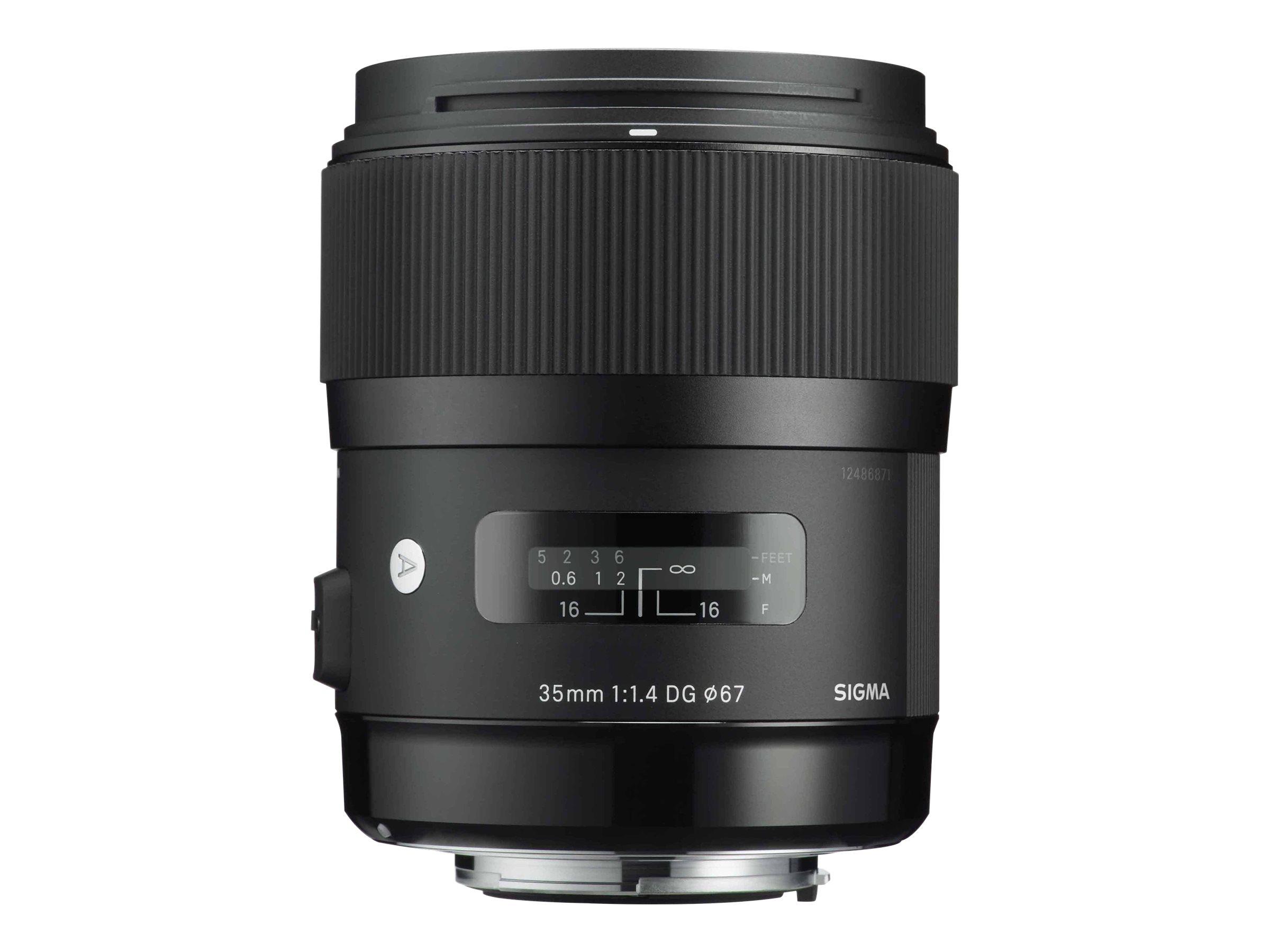 Sigma Art - Objektiv - 35 mm - f/1.4 DG HSM - Canon EF