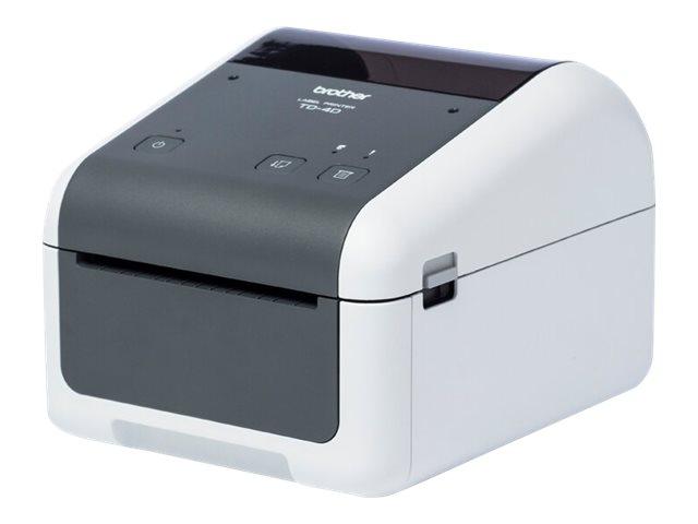 Brother TD-4420DN - Etikettendrucker - Thermopapier - Rolle (11,8 cm) - 203 x 203 dpi - bis zu 203.2 mm/Sek.