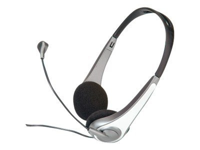 G-SOUND Headset Multimedia - Headset - On-Ear - kabelgebunden - Silver White