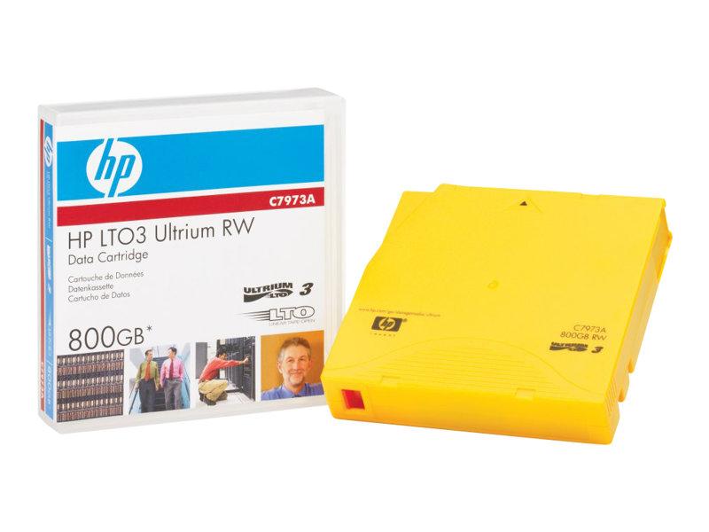 HPE - LTO Ultrium 3 - 400 GB / 800 GB - Beschriftungsetiketten - Gold - für LTO-4 Ultrium; LTO-5 Ultrium; StorageWorks SAS Rack-