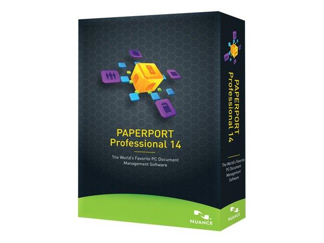 PaperPort Professional - (v. 14) - Box-Pack - 1 Benutzer - DVD - Win