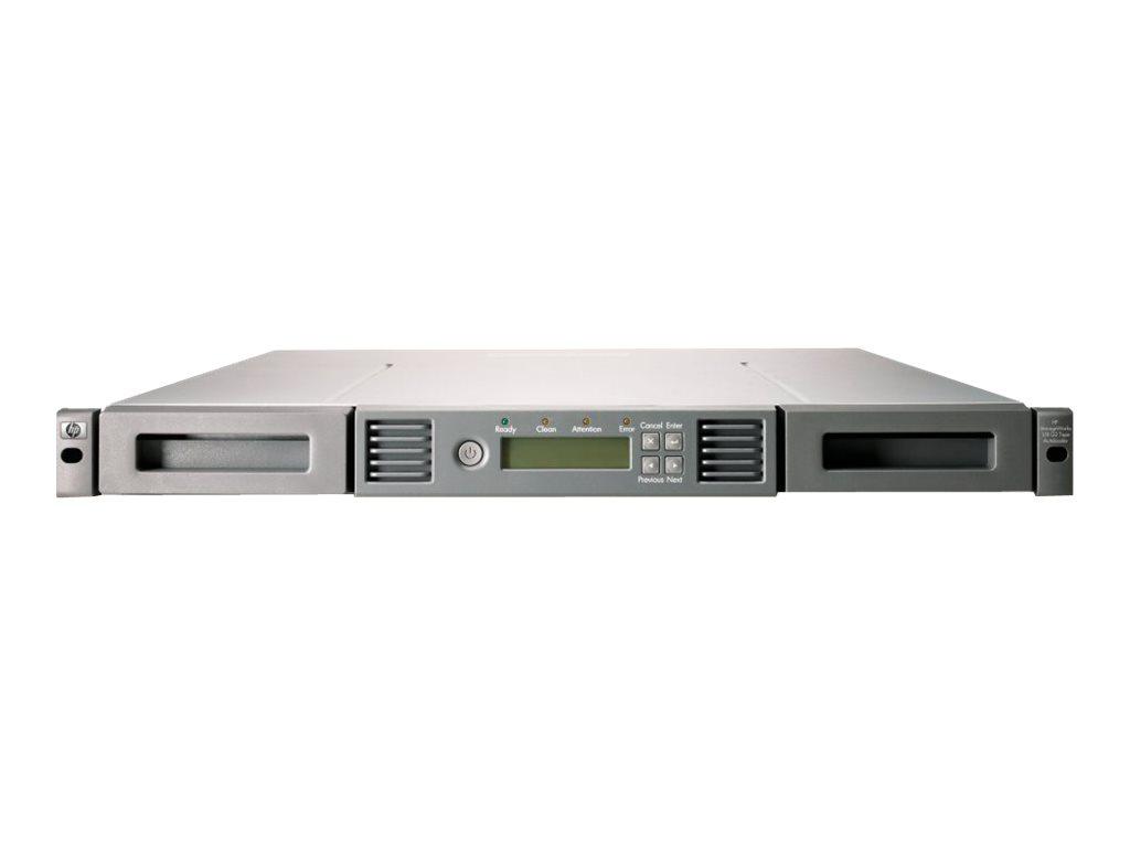 HPE StorageWorks 1/8 G2 Tape Autoloader Ultrium 1760 - Tape Autoloader - 6.4 TB / 12.8 TB - Steckplätze: 8 - LTO Ultrium (800 GB
