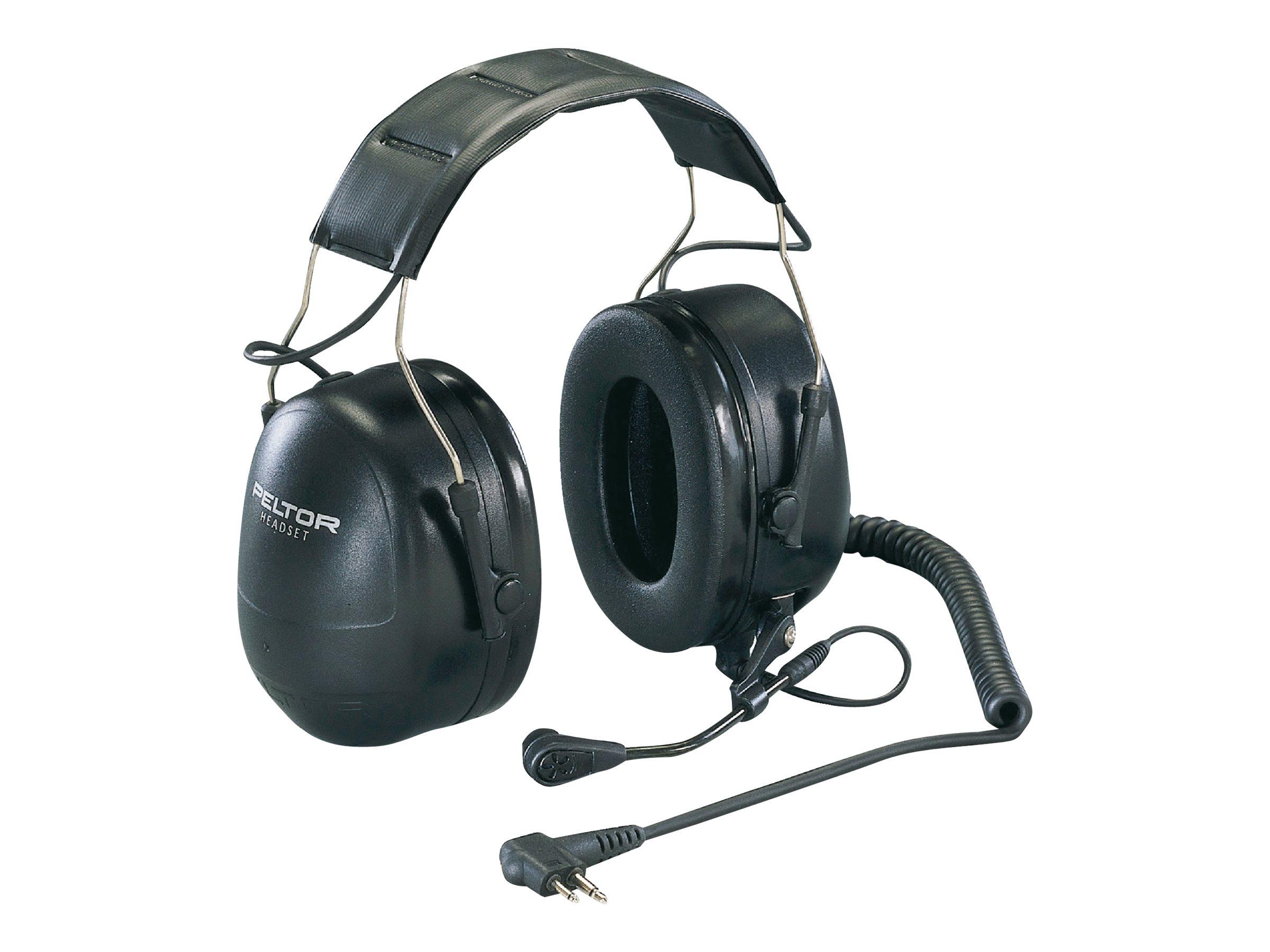 3M Peltor Flex MT53H79P3E-77 - Headset - Full-Size - kabelgebunden - Schwarz