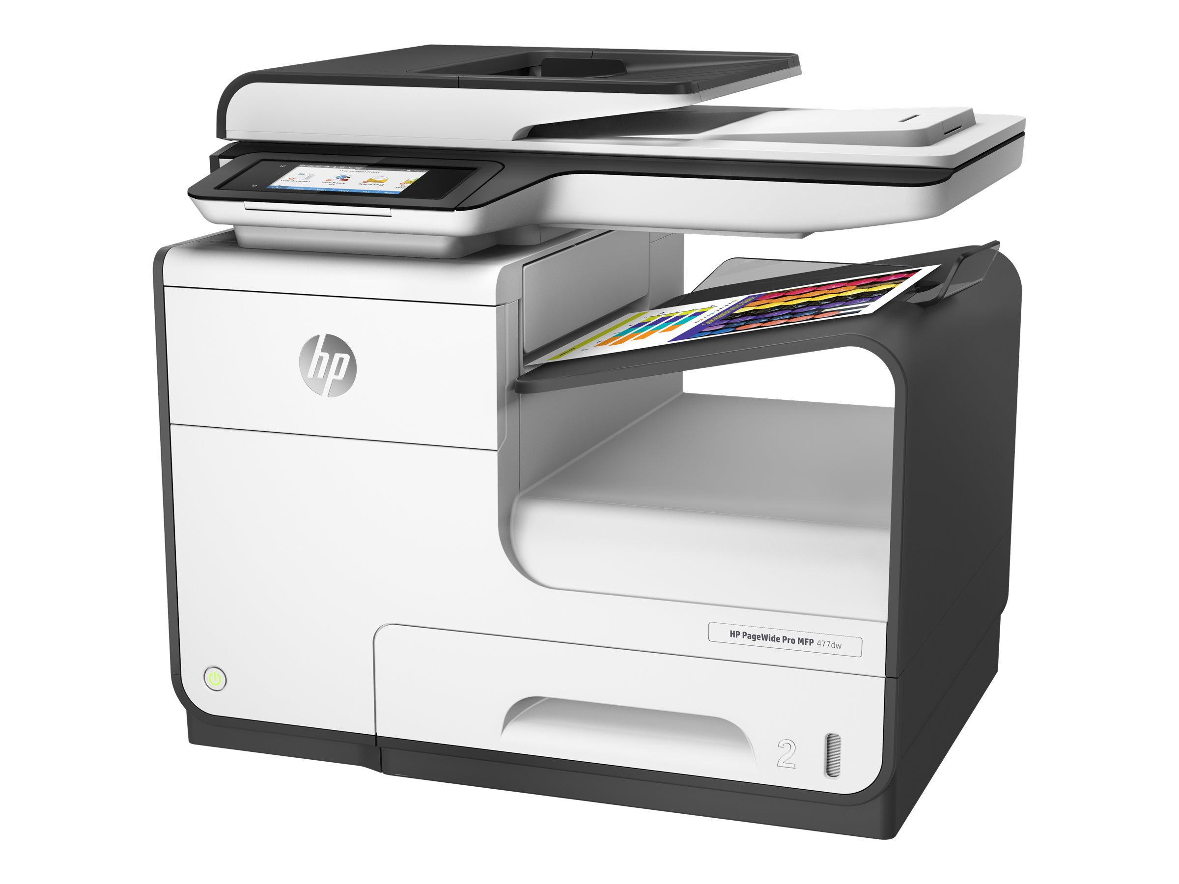 HP PageWide Pro 477dw - Multifunktionsdrucker - Farbe - seitenbreite Palette - Legal (216 x 356 mm) (Original) - A4/Legal (Medie
