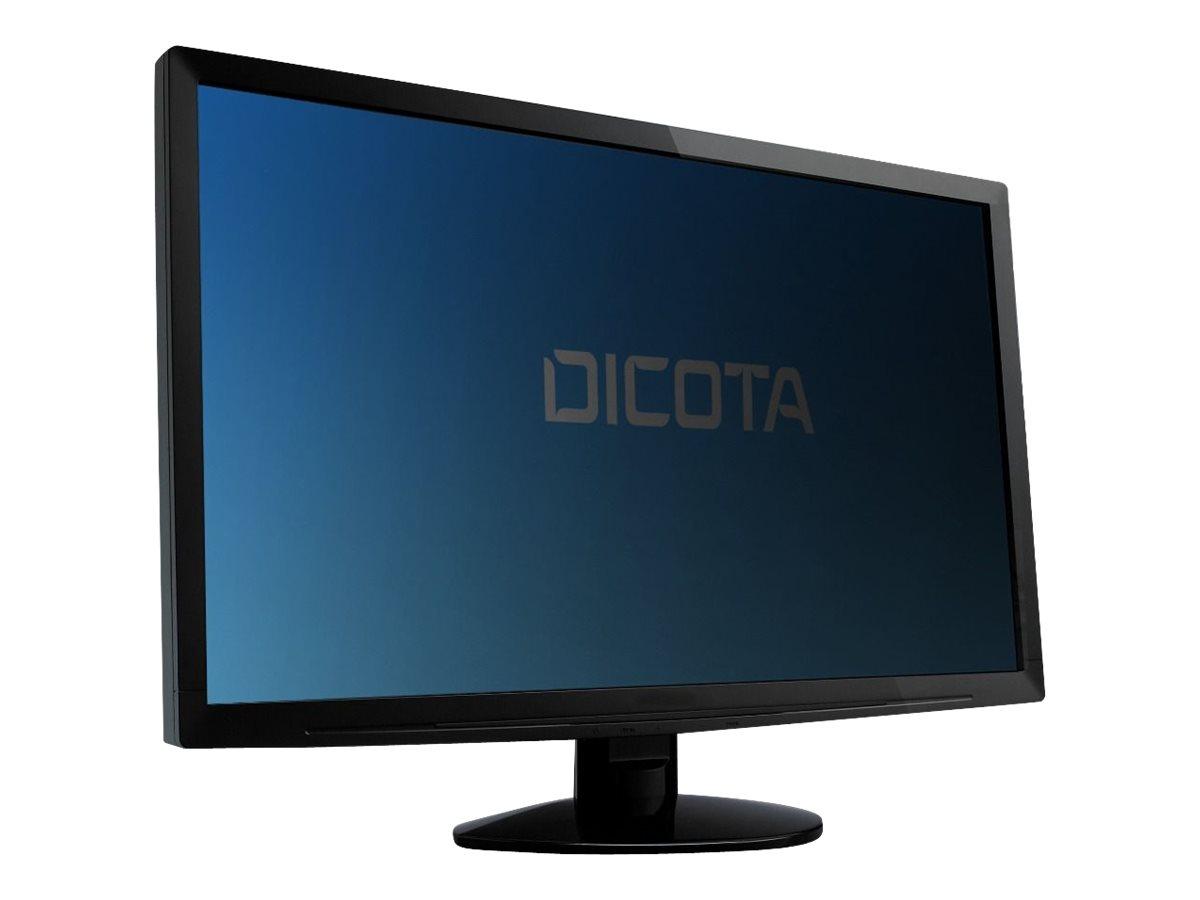 DICOTA Secret 4-Way - Bildschirmfilter - 60.5 cm wide (23,8 Zoll Breitbild) - Schwarz