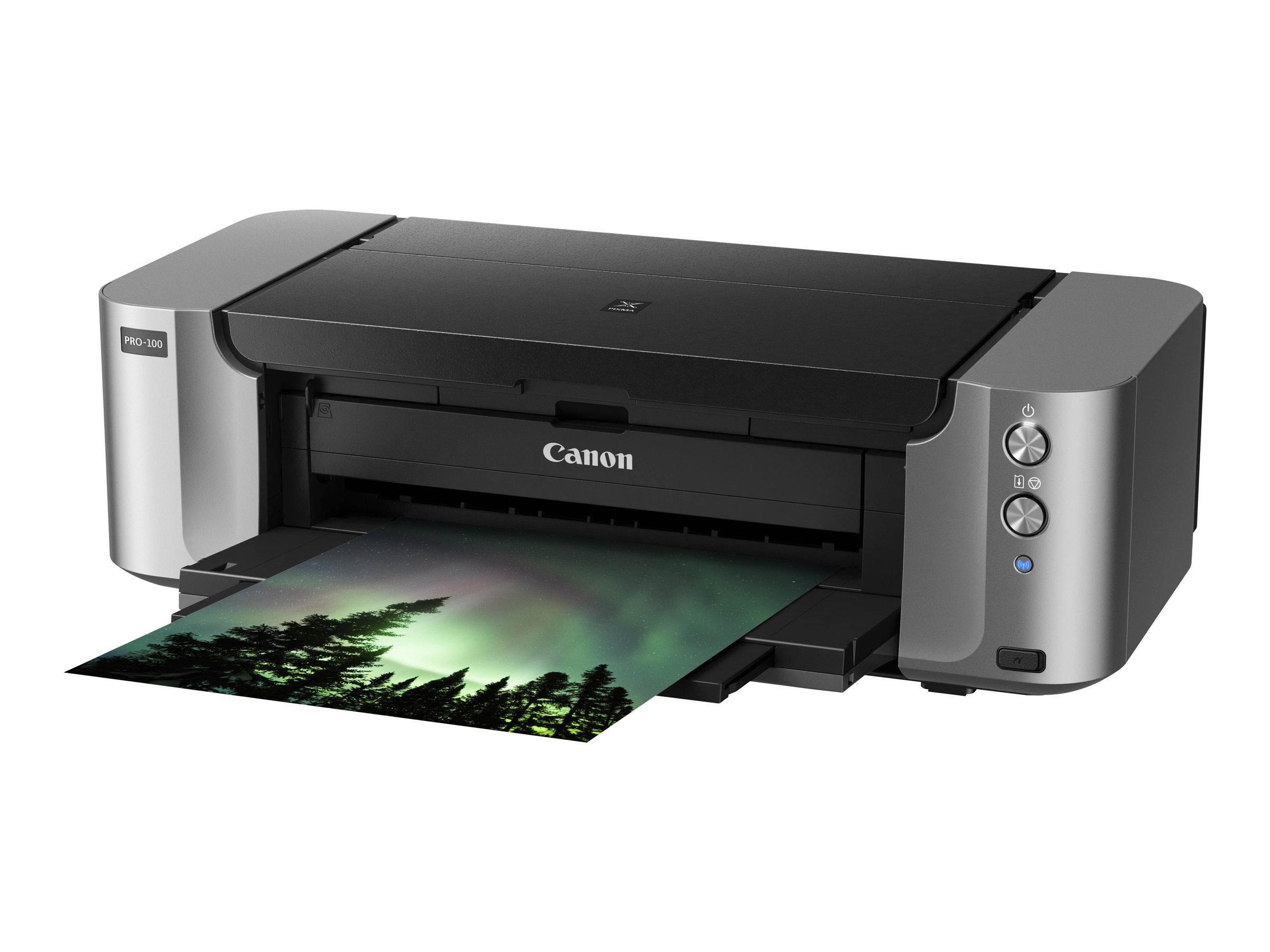 Canon PIXMA PRO-100S - Drucker - Farbe - Tintenstrahl - A3 Plus, 360 x 430 mm bis zu 1.5 Min./Seite (Farbe) - Kapazität: 150 Blä
