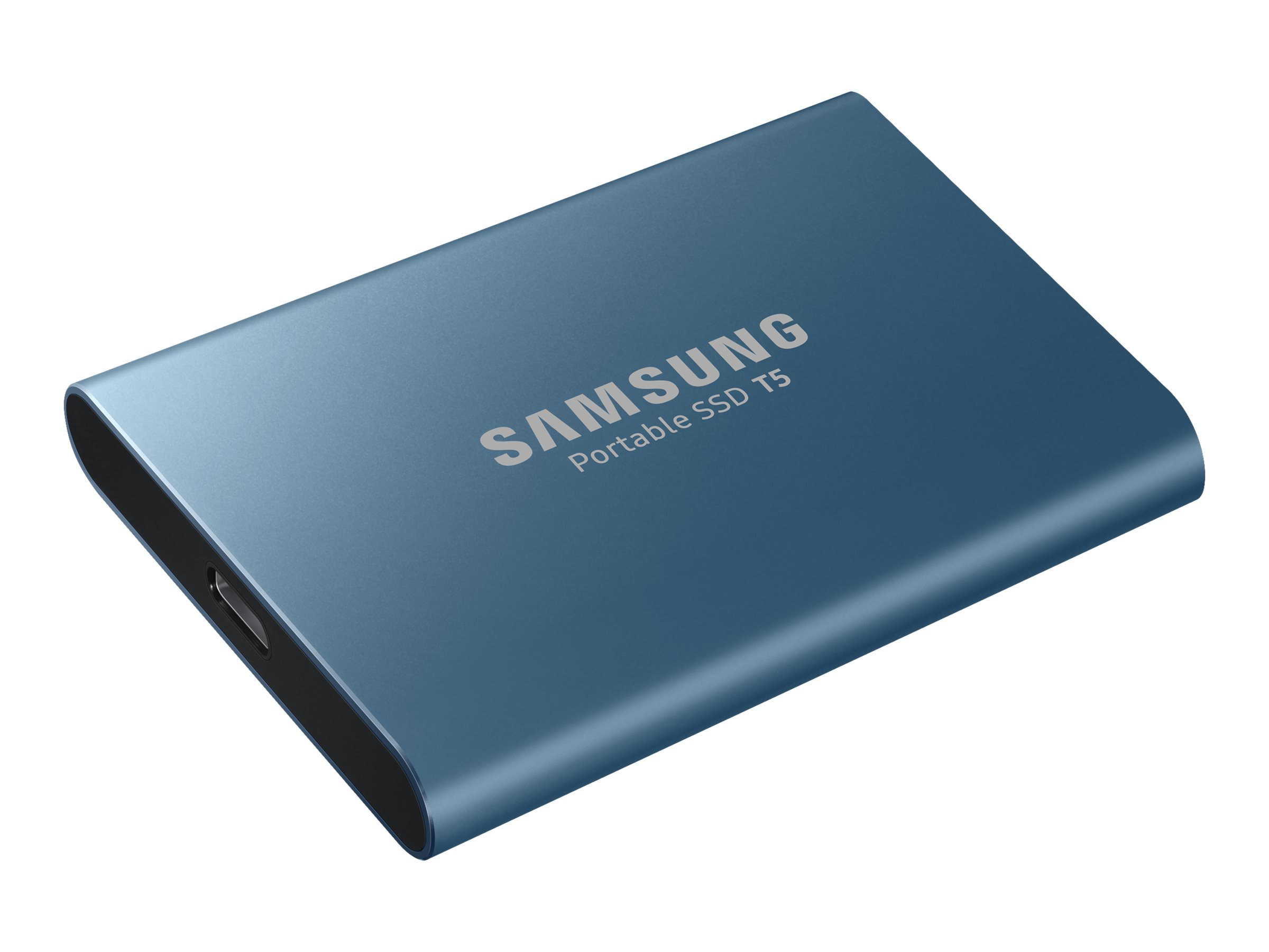 Samsung T5 MU-PA500 - Solid-State-Disk - verschlüsselt - 500 GB - extern (tragbar) - USB 3.1 Gen 2 (USB-C Steckverbinder)