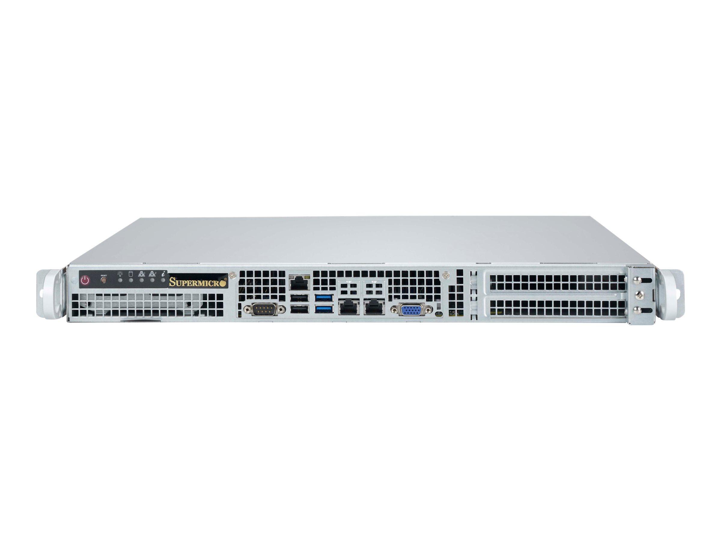 Supermicro SC515 505 - Rack - einbaufähig - 1U - Erweitertes ATX 500 Watt