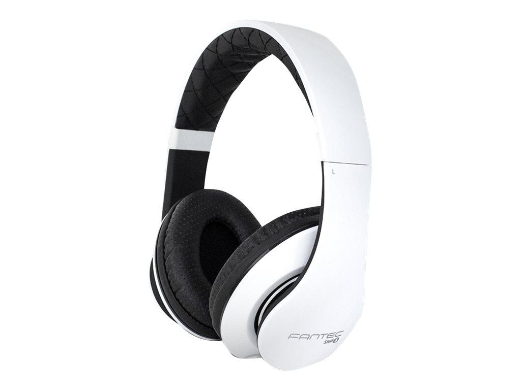 FANTEC SHP-3 - Headset - On-Ear - kabelgebunden - Geräuschisolierung - Schwarz, weiss