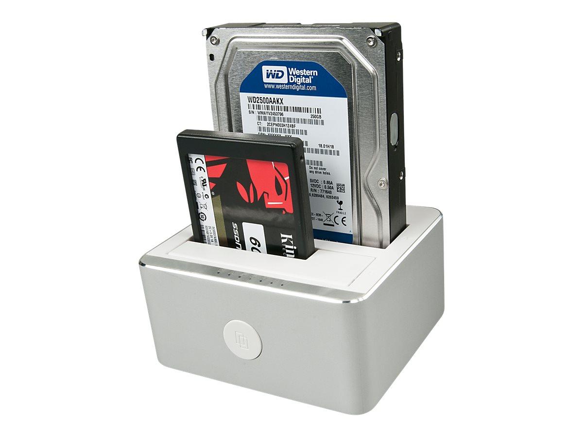 Lindy - HDD-Dockingstation mit Klon-Funktion Schächte: 2 - 2,5