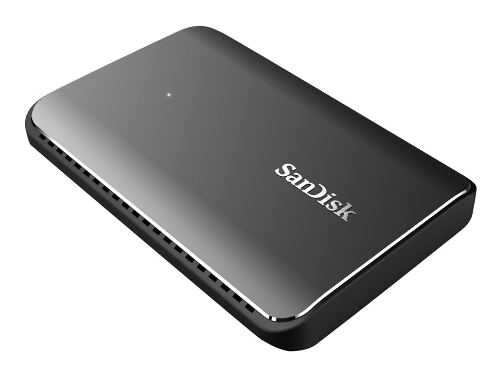 SanDisk Extreme 900 Portable - Solid-State-Disk - 1.92 TB - extern (tragbar) - USB 3.1 Gen 2 (USB-C Steckverbinder) - 128-Bit AE