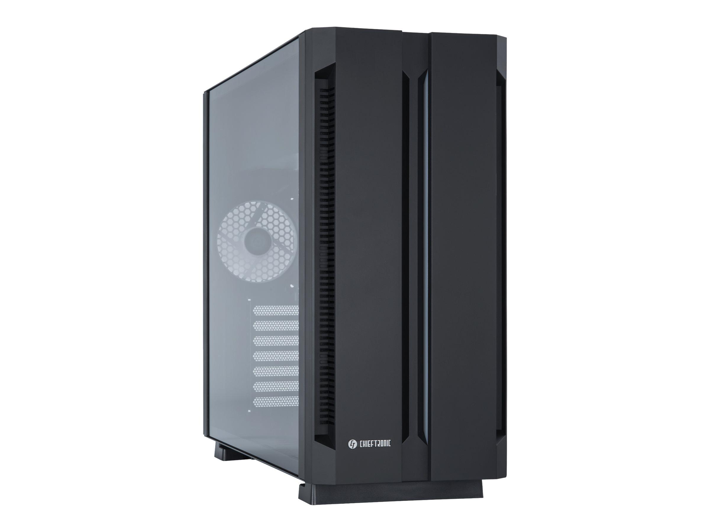 Chieftronic G1 - Tower - ATX - ohne Netzteil (ATX) - Schwarz - USB/Audio