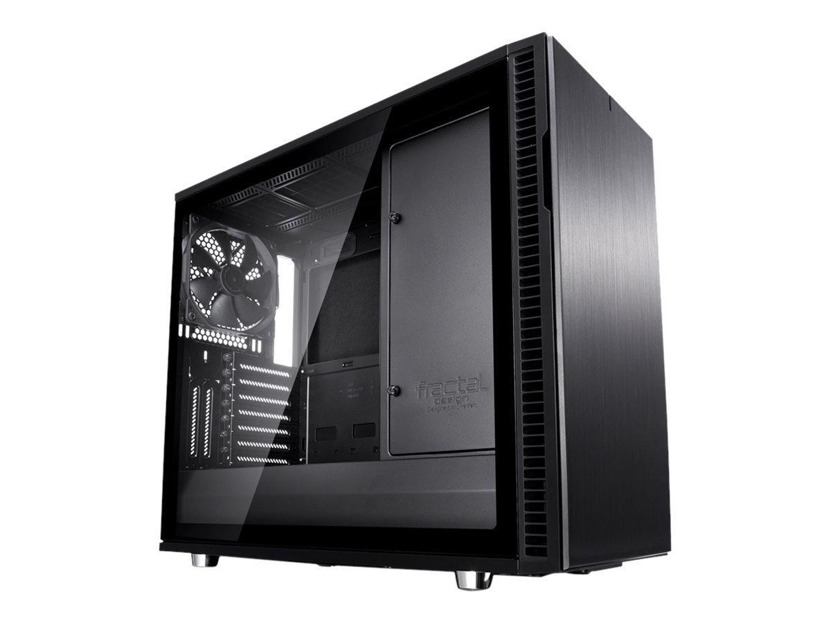 Fractal Design Define Series R6 - Tower - Erweitertes ATX - ohne Netzteil (ATX) - Blackout - USB