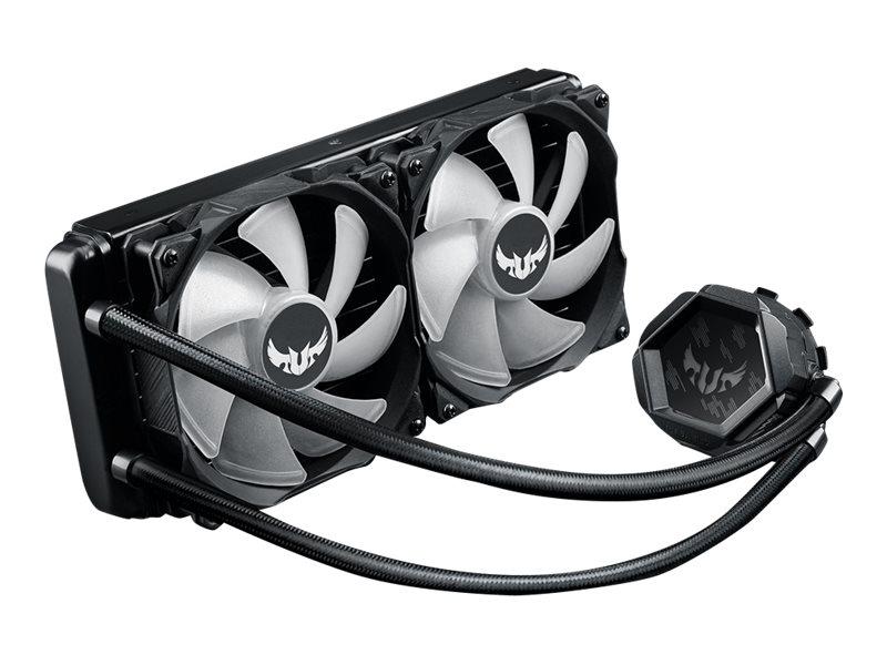 ASUS TUF Gaming LC 240 RGB - Prozessor-Flüssigkeitskühlsystem - (für: LGA1156, LGA1366, LGA1155, LGA1150, LGA1151, AM4, LGA1200)