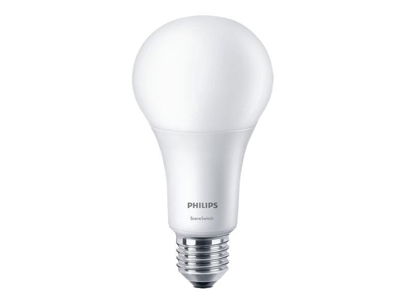 Philips SceneSwitch - LED-Lampe - Form: A67 - matt Finish - E27 - 14 W (Entsprechung 100 W)
